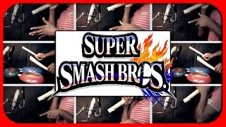 Super Smash Brother 4 Wii U 3DS Theme on Toilet Paper Rolls
