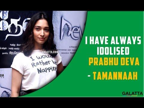 I-have-always-idolised-Prabhu-Deva--Tamannaah