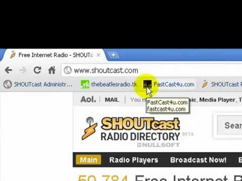 Reproductor flash para tu radio online