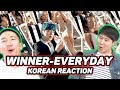 Download Lagu KOREANS react to WINNER - EVERYDAY!!! Mp3 Free