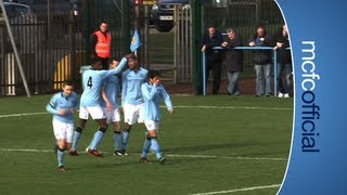 HIGHLIGHTS City V Arsenal U18's Match Highlights