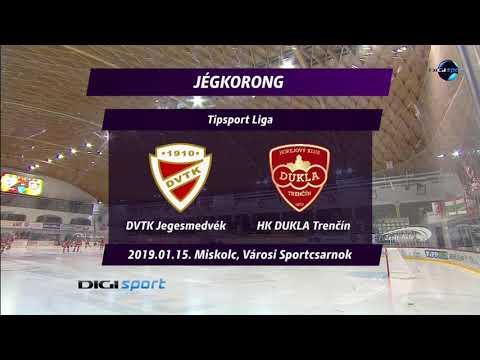 43.forduló: DVTK Jegesmedvék - Dukla Trencin 5-4