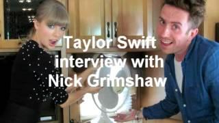 Taylor Swift Interview with Nick Grimshaw at BGT BBC Radio 1