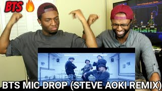 Video BTS (방탄소년단) 'MIC Drop (Steve Aoki Remix)' (REACTION) MP3, 3GP, MP4, WEBM, AVI, FLV Juli 2018