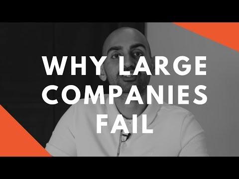 One (SHOCKING) Reason Large Companies Fail