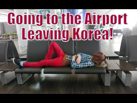VIDEO: Leaving Korea From Incheon Airport