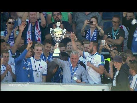 Mecklenburg Schwerin gegen Hansa Rostock - Finale Landespokal 17/18 - Nordmagazin (видео)
