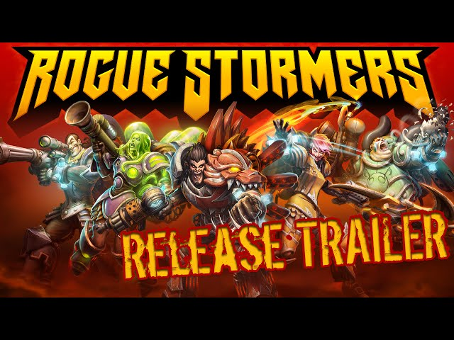 Видео к игре Rogue Stormers