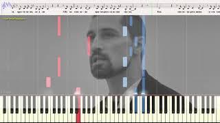 Прости меня - Билан & Лазарев (Ноты и Видеоурок для фортепиано) (piano cover)