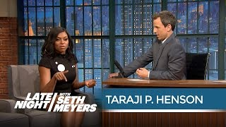 Video Taraji P. Henson on Improvising Cookie Lyon's Insults - Late Night with Seth Meyers MP3, 3GP, MP4, WEBM, AVI, FLV Juli 2018