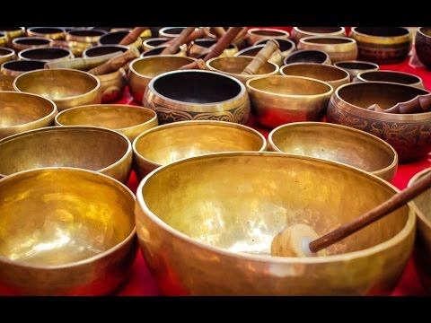 6 Hour Powerful Tibetan Bowl Music: Chakra Healing, Meditation Music, Relaxation Music, ☯2076 (видео)
