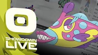 Pokemon Sun and Moon! Showdown Live: Enter Bruxish - Bruxish Showcase! by PokeaimMD