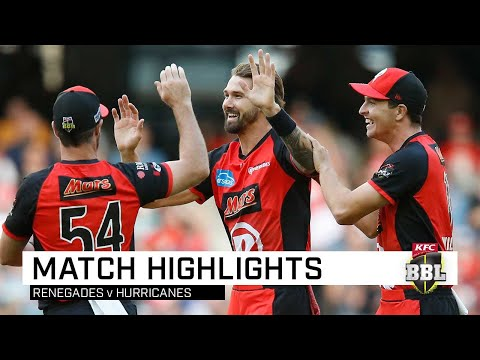 Red-hot Renegades Roll Hurricanes | KFC BBL|08