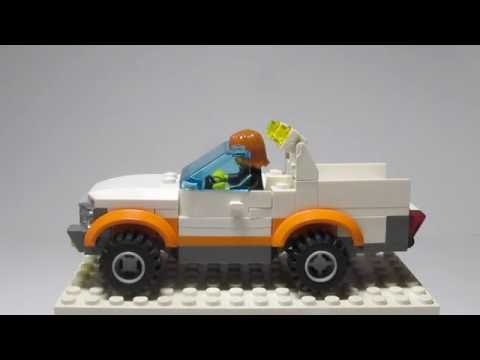 Как сделать из лего джип видео