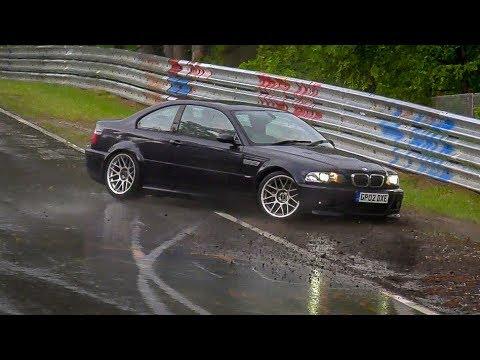 Nordschleife [4K] Near Crash BMW M3 E46 & Ford Focus ST - 20 05 2018 Touristenfahrten Nürburgring