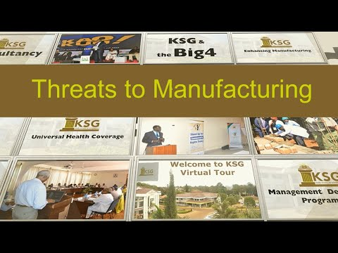 Threats to Manufacturing