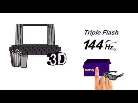 DLP vs LCD comparison video