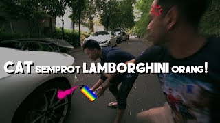 Video CAT SEMPROT LAMBORGHINI ORANG! (PRANK) MP3, 3GP, MP4, WEBM, AVI, FLV September 2018