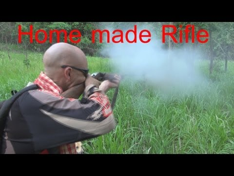 firearm - Came across this guy near the Cambodian/Thailand boarder where guns are completely illegal. I decided to do a review on his home made rifle. It shows that ev...