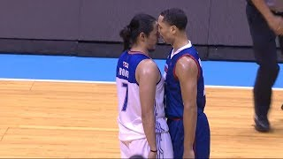 Romeo - McCarthy heated exchange | PBA Governors' Cup 2018