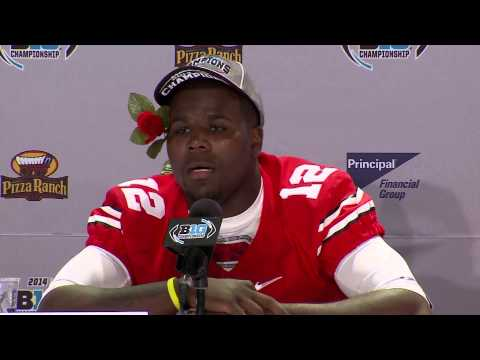 Cardale Jones Interview 12/7/2014 video.