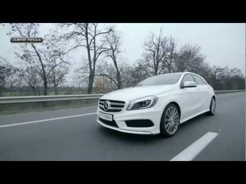 Mercedes-Benz A-class 5D Тест Mercedes-Benz A-class 2013