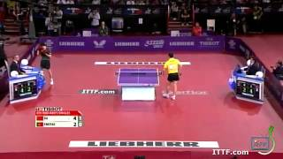 Table Tennis Highlights, Video - Xu Xin vs. Manolo Freitas --- Paris WTTC 2013