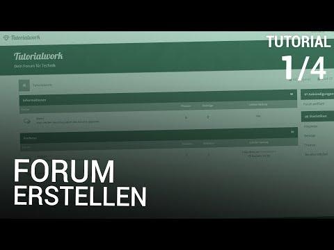 Forum erstellen: Webspace & Installation von mybb (1/4)