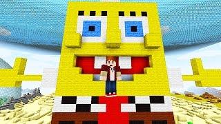 SPONGEBOB BIKINI BOTTOM WARS! Minecraft Mini-Game!
