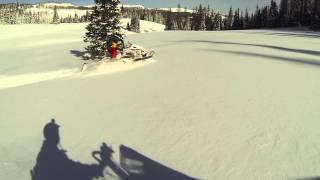 9. 2014 Ski-Doo Summit Sport carving on Christmas break Part 1