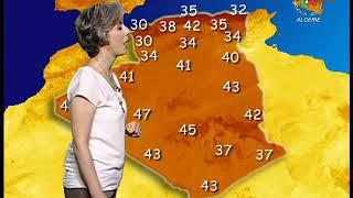 Retrouvez la météo du lundi 22 juillet 2019 sur Canal Algérie