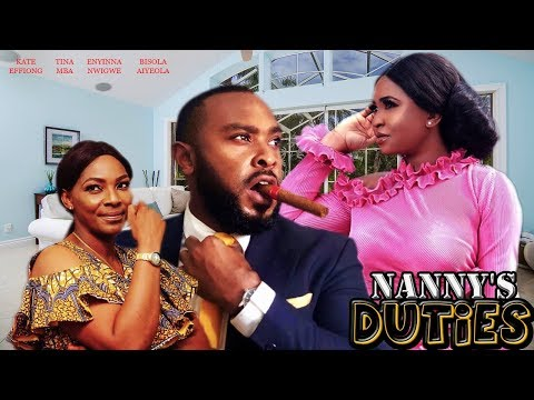 NANNY'S DUTIES |BISOLA AIYEOLA, KATE EFFIONG, TINA MBA - 2019 LATEST NIGERIA NOLLYWOOD MOVIES HD