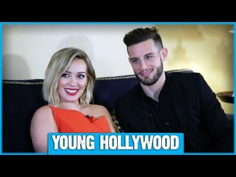 Hilary Duff & Nico Tortorella Talk YOUNGER and Tattoos