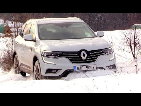 New Renault Koleos 4x4 | Road, Off Road Driving Footage