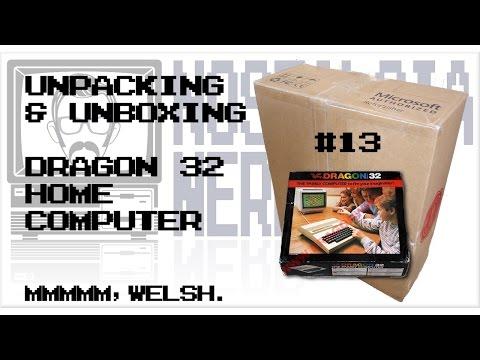 Dragon 32 Unpacking & Unboxing | Nostalgia Nerd