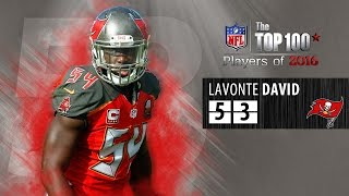 #53: Lavonte David (LB, Buccaneers) | Top 100 NFL Players of 2016 by NFL