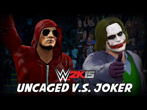 WWE 2K15 - unCAGED VS Joker (First Impressions)