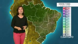 A produção de morango vai muito bem no sul de Minas Gerais e os trabalhos de colheita estão começando. Confira como fica o acumulado de chuva para todo o Bra...