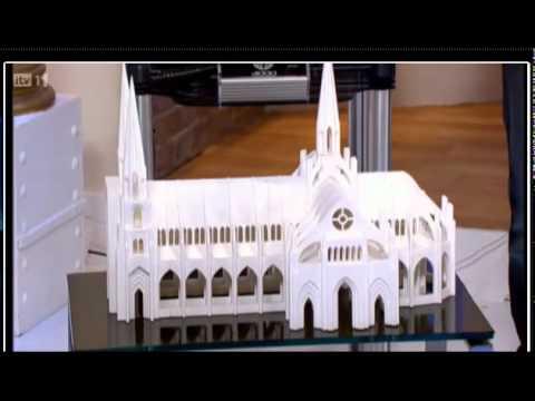 Prezentare printer 3D BFB-3000 la postul ITV