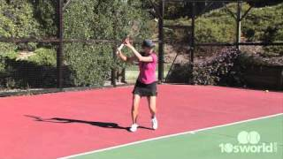 Coach Claire's topspin forehand
