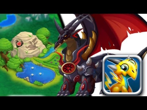 How to get Black Knight Dragon 100% Real! Dragon City Mobile! wbangcaHD!