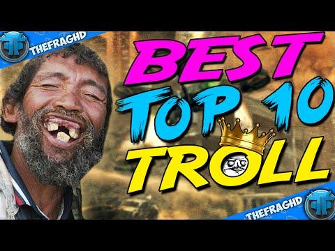 BEST TOP 10 TROLL MULTI-COD   HUMILIATION Black Ops 3 ! (видео)