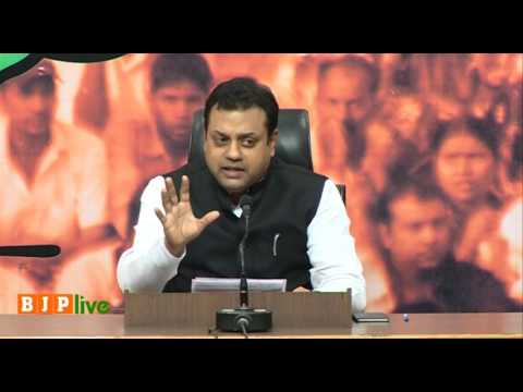 Joint Press Conference by Dr. Sambit Patra & Shri GVL Narsimha Rao at BJP Head Office