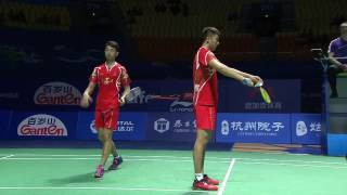 Video Thaihot China Open 2016 | Badminton SF M1-MD | Chai/Hong vs Gid/Suk MP3, 3GP, MP4, WEBM, AVI, FLV Januari 2019