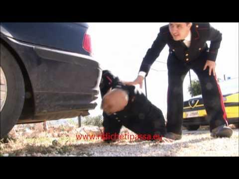 i carabinieri ci spiegano come aggiustare un'ammaccatura all'auto