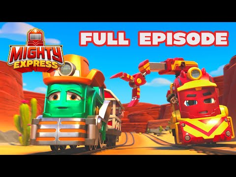 The Great Nate Chase! 🚂 FULL EPISODE! |  Mighty Express Official