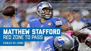 Matthew Stafford Guides Lions Down the Field for Another TD! | Eagles vs. Lions | NFL by NFL
