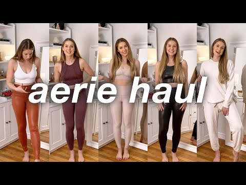 AE & AERIE TRY-ON HAUL | Activewear and Loungewear