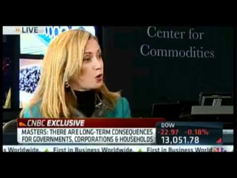 Blythe Masters - This is only the second CNBC interview with Blythe Masters, head of commodities trading at JP Morgan, I have noticed. Ms. Masters' appearances on TV are some...