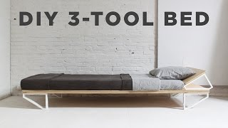 Diy Bed   3 Tool Series